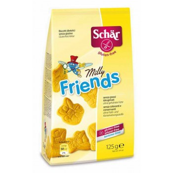 Milly friends - herbatniki BEZGL. 125 g - SCHAR