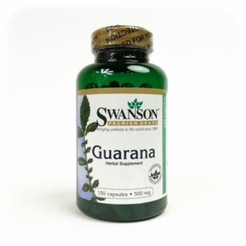 Guarana 500mg 100 kps. - SWANSON