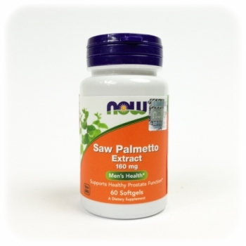 Saw Palmetto extract 160mg 60 kps. - NOW