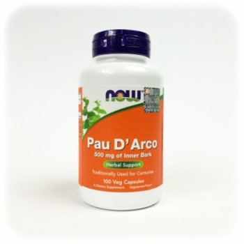 Pau D Arco 500mg 100 kps. - NOW