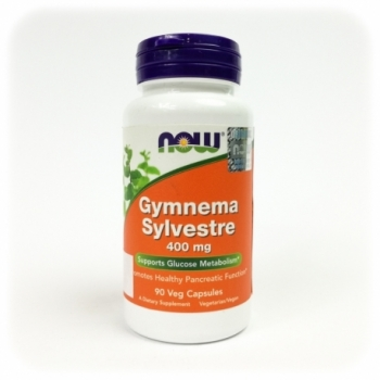 Gymnema sylvestre 400mg 90 kps. - NOW